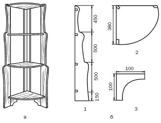 Схема изготовления угловых