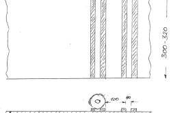 Схема переоборудования съёмной полки в винную
