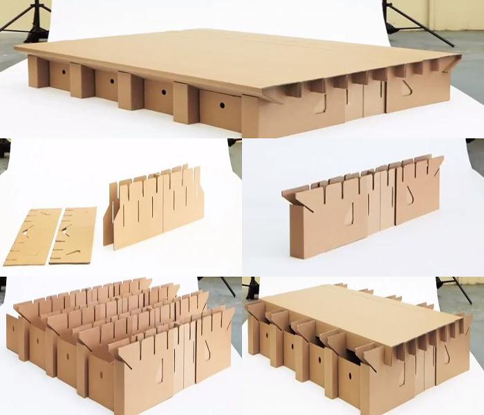 Шкаф из картона