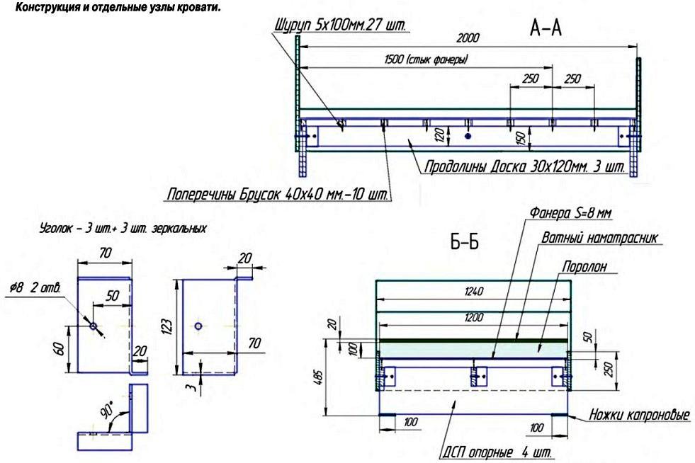 Пример 2: схема конструкции и