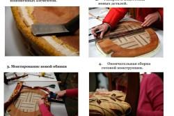 Этапы перетяжки мебели