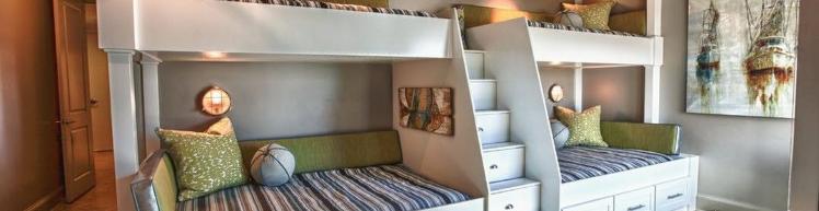 Лестница на двухъярусную кровать своими руками