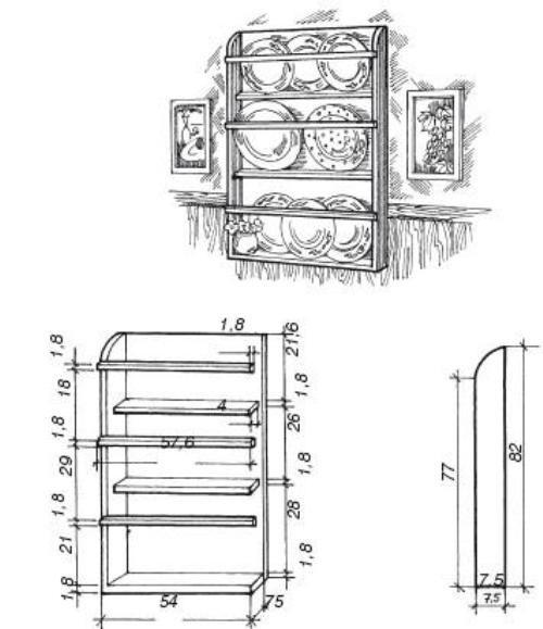 Схема расположения крепежных