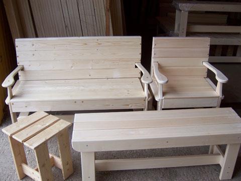 Мебель деревянная своими руками фото