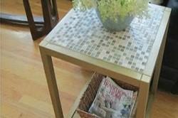 Декорирование стола мозаикой