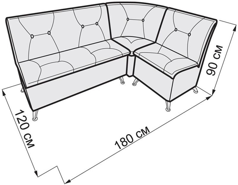 Схема установочных размеров