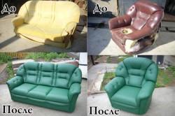 Примеры перетяжки мебели
