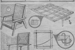 Схема ремонта старого кресла