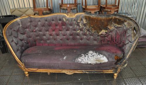 Старый диван