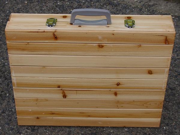 Раскладной столик-чемодан своими руками