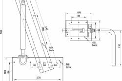 Схема механизма откидной кровати