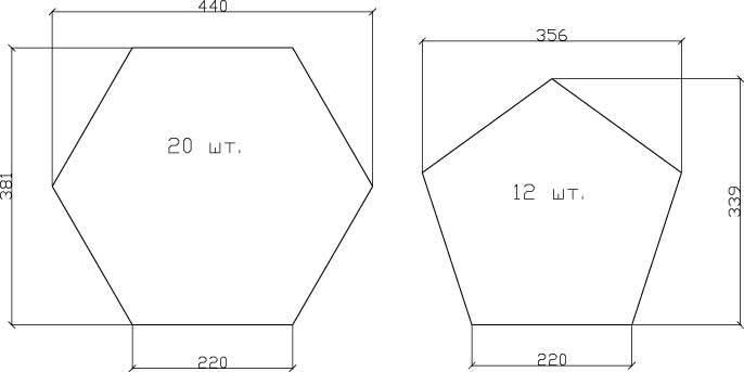 Схема кресла-мяча