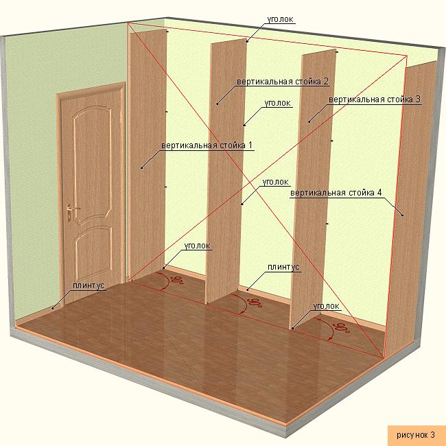 Изготовление шкафчиков своими руками 67