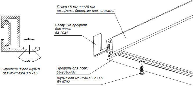 инструкция крепление полок на стену кухонная мебель оля