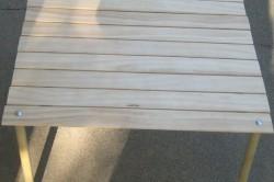 Складной столик, сделанный своими руками