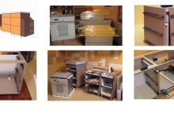 Процесс изготовления кухонной мебели