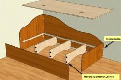 Схема сборки подростковой кровати