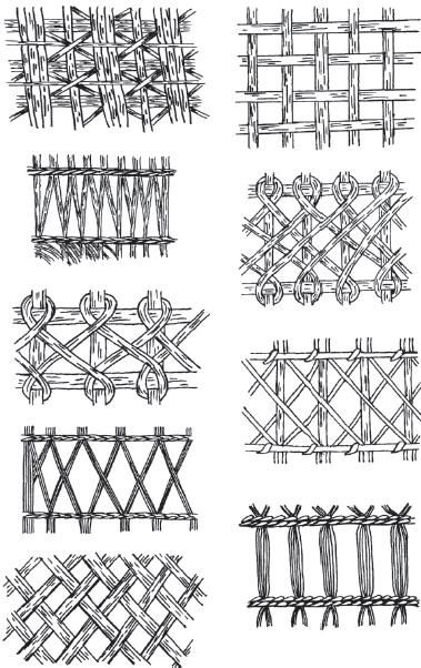 Виды ажурного плетения