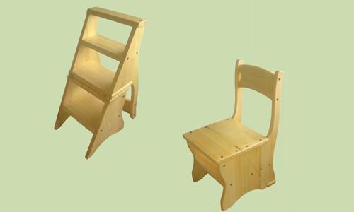 Внешний вид стула-стремянки