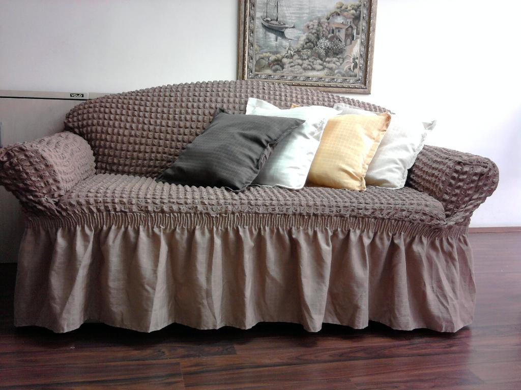 Выкройка накидки на диван своими руками