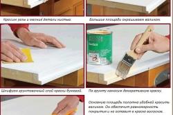 Последовательность окрашивания мебельных изделий