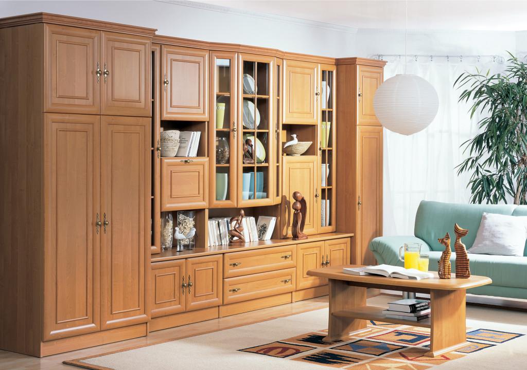 Мебель из ДСП в гостиной