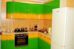 Покраска кухни в градиент