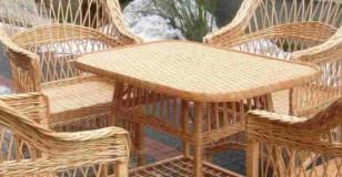 Плетение из мебели из ивы своими руками видео