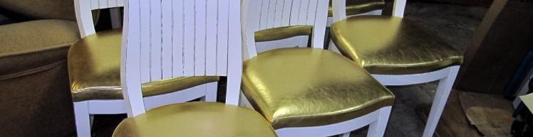 Как перетянуть барный стул своими руками 35
