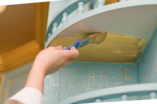 Окрашивание мебели из ДСП