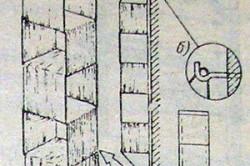 Схема сборки стеллажа из ткани