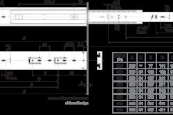 Схема устройства направляющих
