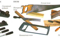 Инструменты для изготовления деревянной скамьи