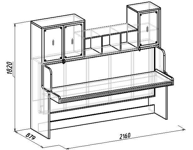 стола кровати трансформер