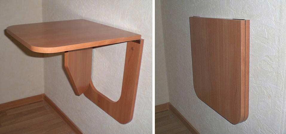 Откидной стол на кухню своими руками.