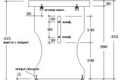 Сборка и размеры обычного кухонного табурета