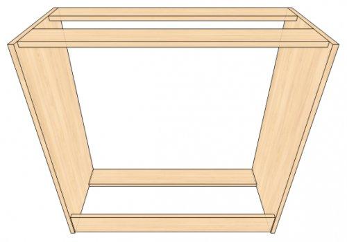 Корпусная мебель своими руками: чертежи, сборка.
