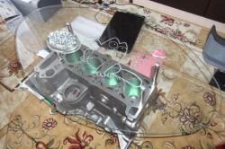 Журнальный столик из блока цилиндров двигателя