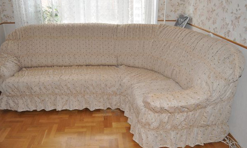 чехол для углового дивана своими руками защита мебели
