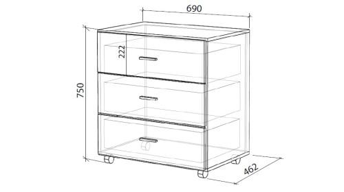 Shema-klassicheskogo-komoda-500x280 Как обновить мебель своими руками: 25 фото с инструкциями