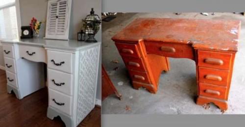 restavraciya-500x259 Переделка старой мебели: реставрация табурета (фото)