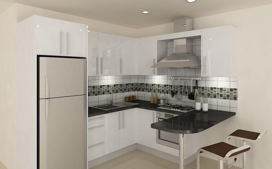 всё это кухня буквой г с холодильником фото нас собраны